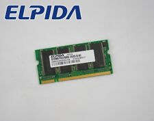 512mb Elpida Notebook ddr1 SO-DIMM Memoria RAM pc2700s ibid 52 UD 6 ADSA - 6b