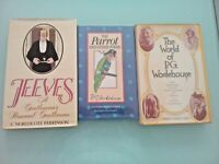 P.G. WODEHOUSE LOT OF 3 FIRST EDITION BOOKS - FREE BOOK OFFER