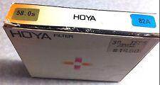 58mm Hoya 82A 82-A 82 A Blue Glass Lens Filter 58 mm Japan