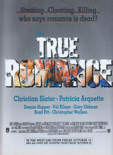 True Romance Film 1993 Magazine Advert #3374