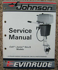 1987 Evinrude Johnson Service Manual Colt, Junior, 2.5, 4, 4.5, 5, 6, 6.5, 8 HP