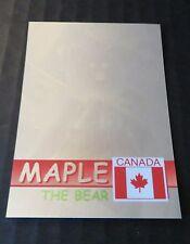 Ty Beanie Babies Series Ii S2 Green Hologram Rare Bear Card 297 Maple 3883/6666