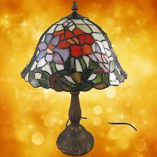 Tiffanylampe komplett Tisch Lampe Weihnachtgeschenk H.45-D.31cm Tischleuchten