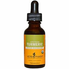 Extracto de cúrcuma en líquido - 30ml por Herb Pharm-Suplemento Herbal todo rizoma