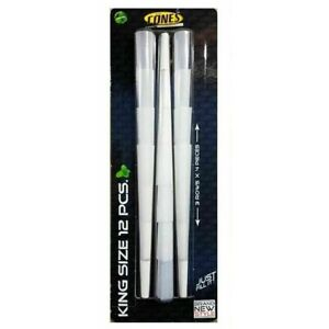 12 PREMIUM KING SIZE PRE-ROLLED JOINT CIGARETTE CONES CONE BLUNT PACK IT & SMOKE