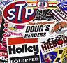 Vintage Racing Decal Sticker Assortment Set Lot of 12 Nostalgia Hot Rod NHRA
