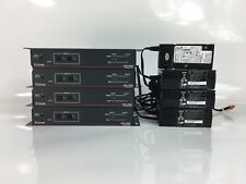 Lot of 4 - Extron SW2 HDMI Switcher + Power Supplies - Used - Power Tested Only