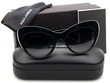 "D&G Dolce & Gabbana DG6110 501/8G BLACK /GREY GRAD SUNGLASSES 52mm Italy ""READ"""