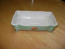 Antique / Vintage EW  6795 princess china soap dish China Butter Dish EW-6795
