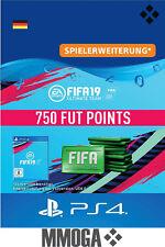 PS4 - FIFA 19 Ultimate Team - 750 FUT Points Key Playstation 4 Code Nur für DE