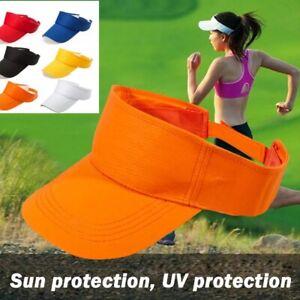 Running/golf sun visor cap,mens/womens,adjustable size,6 colours,uk seller