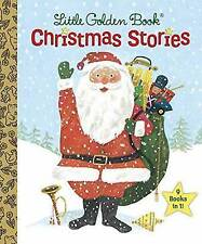 Little Golden Book Christmas Stories by x9 Books In 1 (Hardback, 2015)