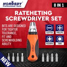 8 in 1 Ratcheting Screwdriver Bits Torx Fix Home Repair Kit DIY Tool Accessories