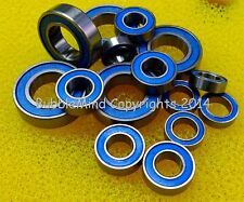 [BLUE] FOR TAMIYA 58624 Mazda Miata MX-5 Rubber Ball Bearing Bearings M05 M-05