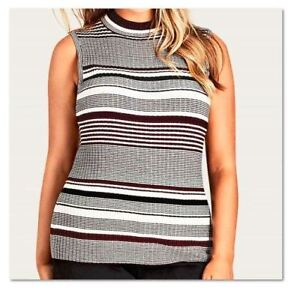 NEW CITY CHIC STRIPE PLAY TOP SIZE XS, S