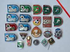 Russian soccer club Badge Lot 22x USSR Football Pins collection sport set Dynamo