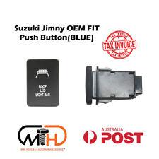 SUZUKI JIMNY 2019 2020 JB74 PUSH SWITCH ROOF LED Light Bar BLUE