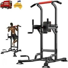 Home Gym Multi Power Tower Pull Up Bar Dip Knee Raise Power Rack Fitness Station