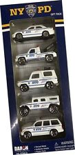 NYPD New York City Police Department 5 car set 1:64 scale Crown Victoria RT8610