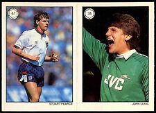 Pearce/Lukic #61/35 Saint e greavsie TOPPS Football TRADE card (c223)