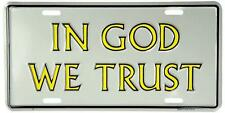 In God We Trust Novelty Car Truck Vanity Auto Tag License Plate Religious