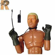 Rick: SEAL Team 6 - Nude Body w/ Radio Gear - 1/6 Scale - Dragon Action Figures