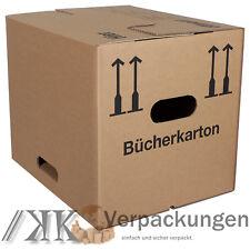 Umzugskartons stark und handlich 500x350x370 Bücherkartons 4 St 2-wellig BC