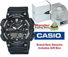 AUSSIE SELLER CASIO WATCHES AEQ-110W-1AVD WORLD TIME TELEMEMO 12 MONTH WARRANTY