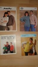 KNITTING PATTERNS FOR BOYS/MENS/WOMEN  JUMPERS