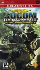 SOCOM U.S. NAVY SEALS FIRETEAM BRAVO - PSP ~Brand New & Sealed