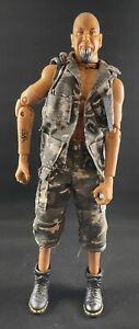 "The Villains T - Gore 21st Century 1/6 Figure 12"" Doll GI Joe Bounty Hunter 2000"
