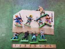Britains Mexicains Toy Soldiers Military Figures X 9 1971 Wild West