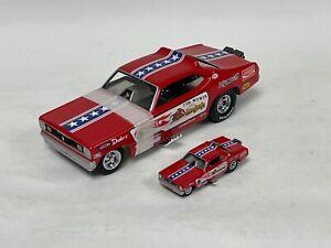 1/24 & 1/64 set Hot Wheels Legends the Mongoose Funny Car of Tom McEwen   JD220