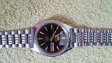 Mechanische (automatische) Orient Armbanduhren mit Edelstahl-Thema
