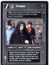 Star Wars CCG Reflections II Ex. Uni. Premium The Emperor