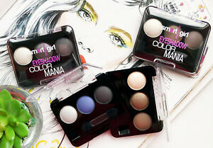BELOR DESIGN Color Mania | Long Lasting COMPACT EYESHADOW Palette, Multi Shades