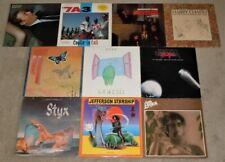 10 Lp Record Pop Rock Album Lot Genesis Styx Heart Jefferson Starship Jim Croce