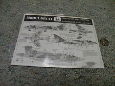 Modeldecal decals 1/72 Set#26 Hunter FGA9 Buccaneer S2B Canberra B2 Gazelle  H56