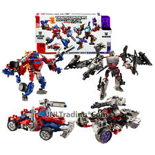 Year 2013 Hasbro Transformers Construct-Bots 2 Pack OPTIMUS PRIME Vs MEGATRON