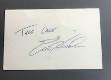 Eric Heiden - AUTO AUTOGRAPH SIGNED - INDEX CARD - GUARANTEED AUTHENTIC