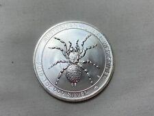2015 $1 Australia 1 oz .999 Silver Funnel-Web Spider