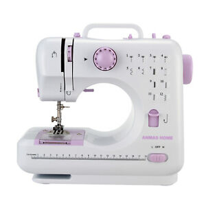 BRAND NEW 12 Stitches Electric Overlock Sewing Machine Household Sewing Tool