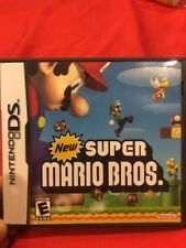 New Super Mario Bros Nintendo DS Complete W/Original Case And Manual