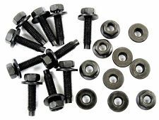 Chevy Bolts & Flange Nuts- M5-.80mm x 20mm Long- 8mm Hex- Qty.10 ea.- #383