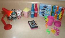 "LOT of American GIRL Or ANY 18"" DOLL Size DRINKS,LAMP,Smart PHONE, Books,GAME +"