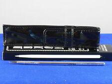 bareMinerals BUXOM Full Size LASHLINER BRUSH Plus Pouch Case NIB $17