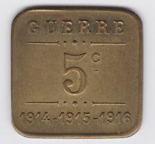 NECESSITE 5 C 1ERE GUERRE TOULOUSE CAFES