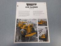 Rare Pettibone 1500 Line Sagger Sales Sheet