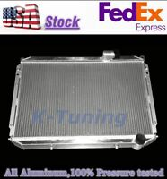 3 Row Aluminum Cooling Radiator for 1984-1989 Nissan 300ZX Turbo 2+2 85 86 87 88