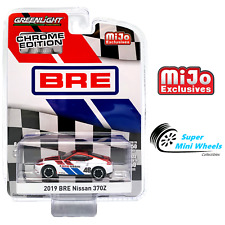 Greenlight 1:64 - 2019 Nissan 370Z BRE (Brock Racing Enterprises) Chrome - Mijo